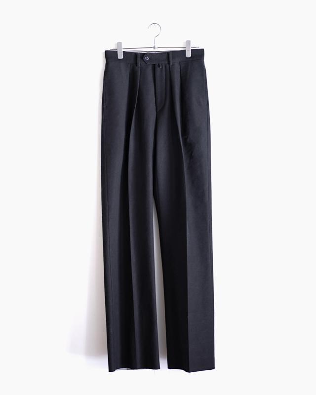 BUFFALO CLOTH PIGMENT PRINT|WIDE – Black|NEAT