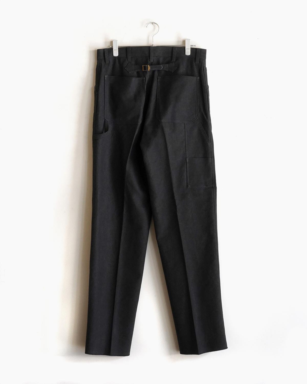 BUFFALO CLOTH PIGMENT PRINT - PAINTER - Black NEAT