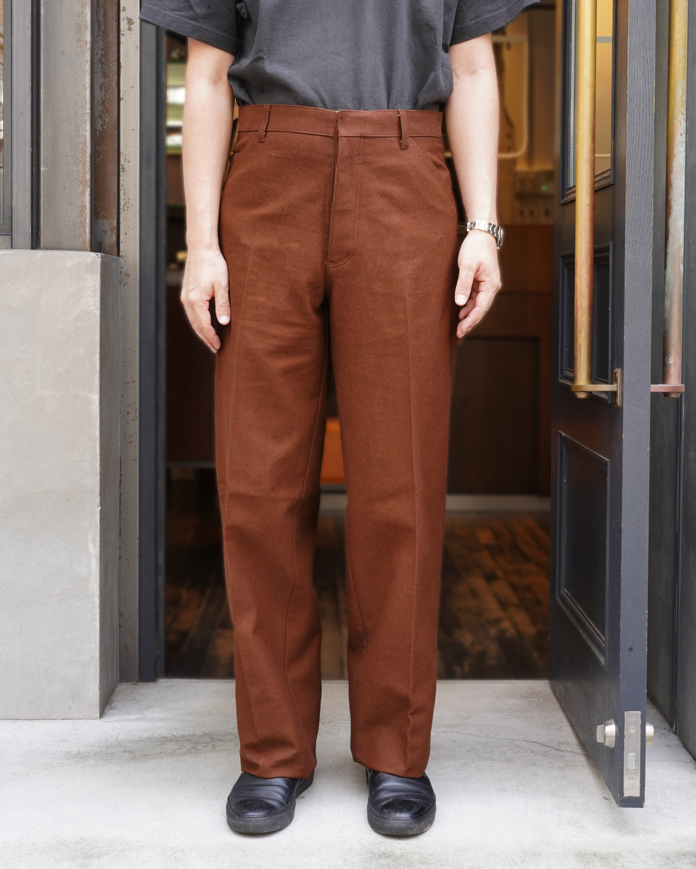BUFFALO CLOTH PIGMENT PRINT|PAINTER – Brown|NEAT