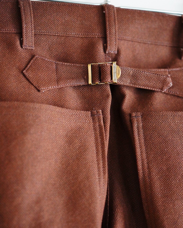 BUFFALO CLOTH PIGMENT PRINT PAINTER - Brown NEAT