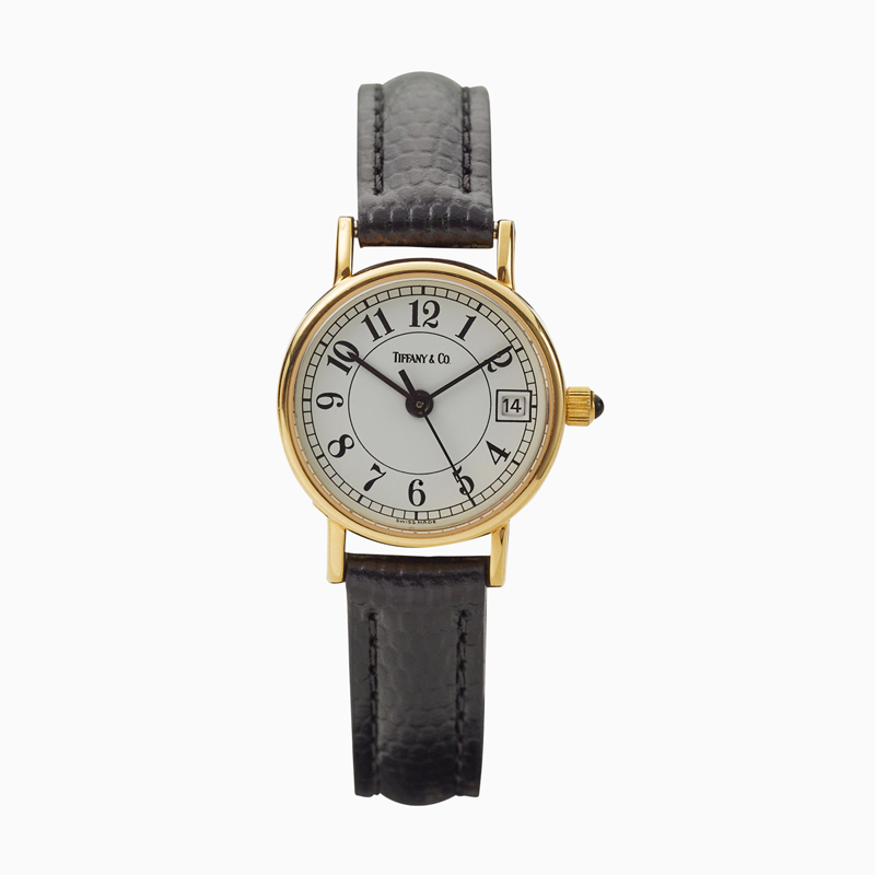 Tiffany & Co.|14KYG|Round Arbic Dial – 90'S|OTHER VINTAGE WATCH